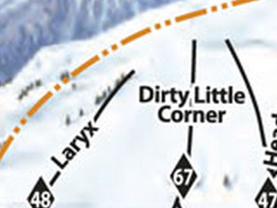 Dirty little corner - Banff Sunshine resort