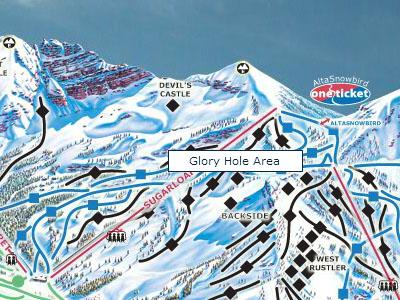 Glory Hole - Alta Utah