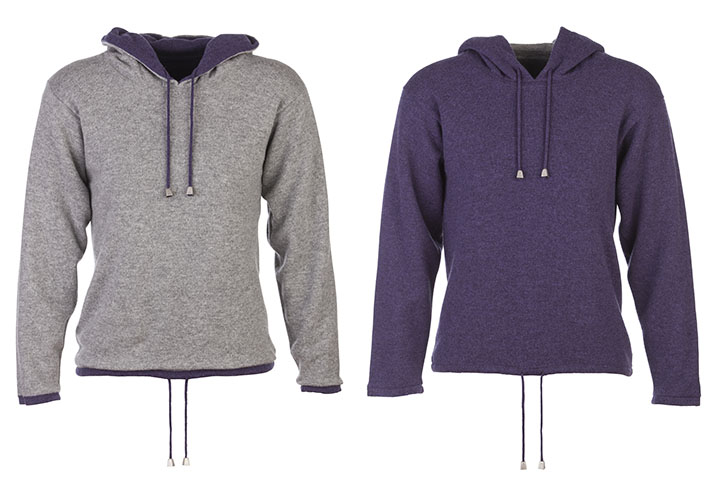 Hoodie, Johnstons of Elgin, Warm, Fashion, cashmere